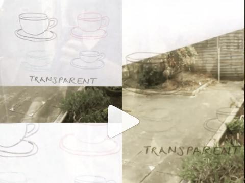 315 – Transparent cup