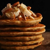Fluffy Millet Pancakes | Eggless, Gluten-free and Sugar-free