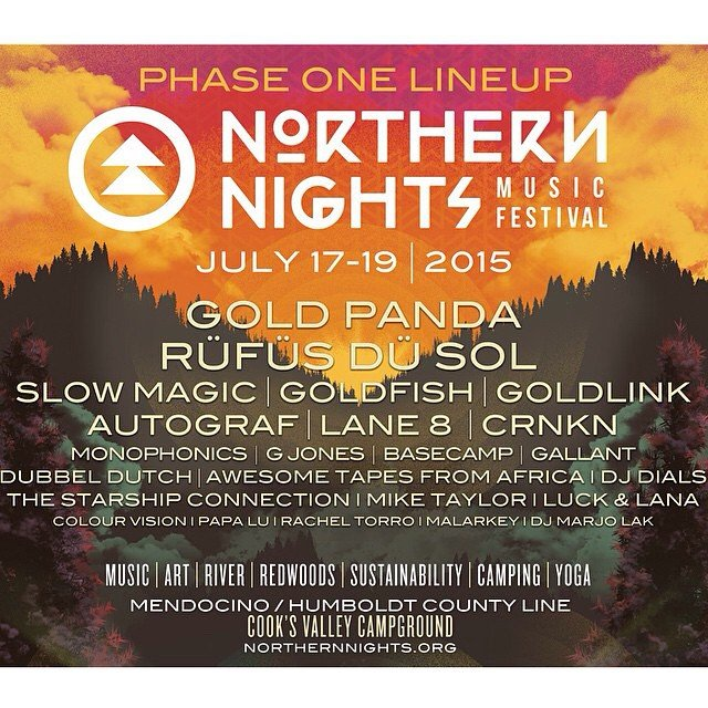 Northern Lights Music Festival Lineup
