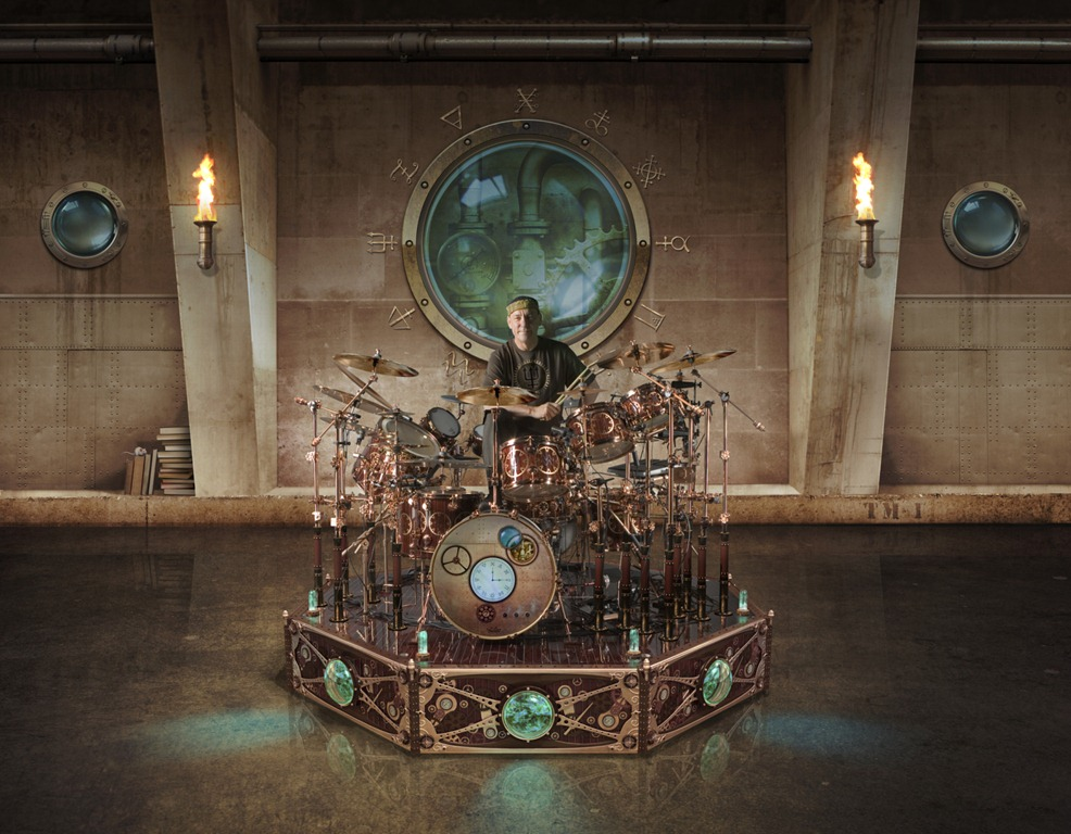 Want To See Neil Peart s Time Machine Drum Kit Up Close    That Eric     Just