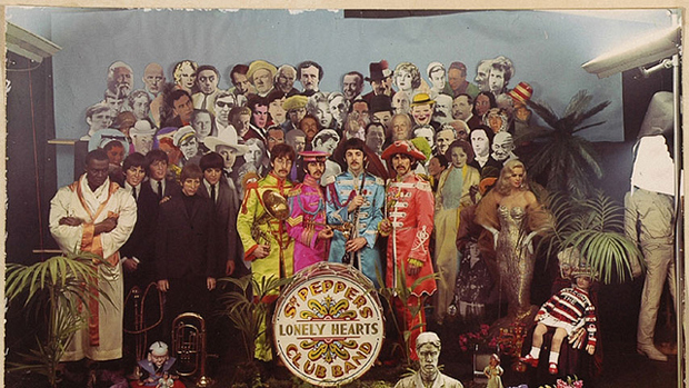 Cover shoot for Sgt Pepper (1)