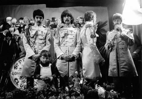 Cover shoot for Sgt Pepper (13)