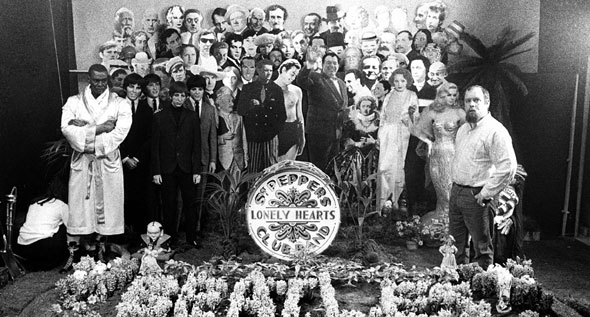Cover shoot for Sgt Pepper (17)