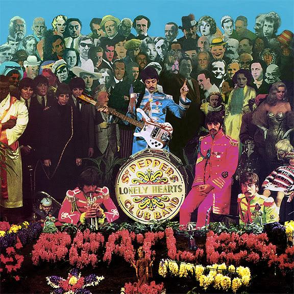Cover shoot for Sgt Pepper (3)