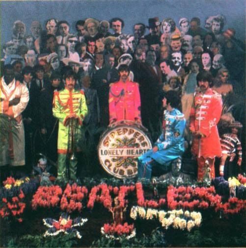 Cover shoot for Sgt Pepper (8)