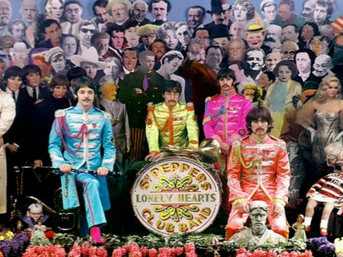 Cover shoot for Sgt Pepper (9)