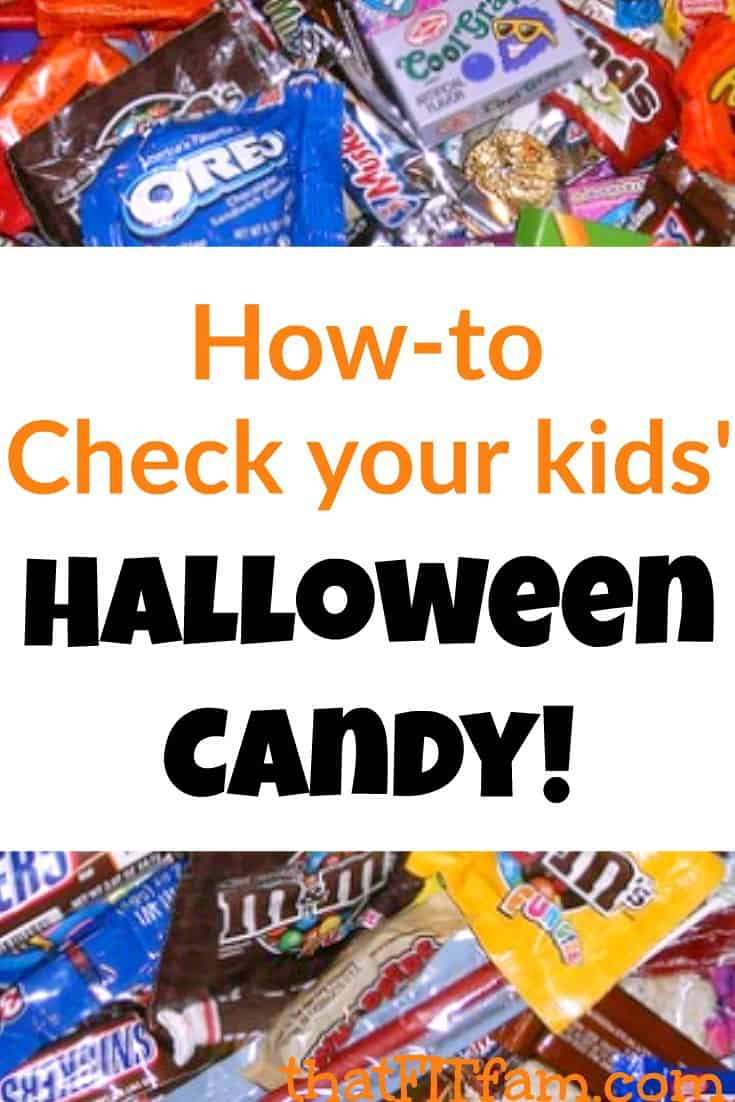 how to check your kids' halloween candy! - that fit fam