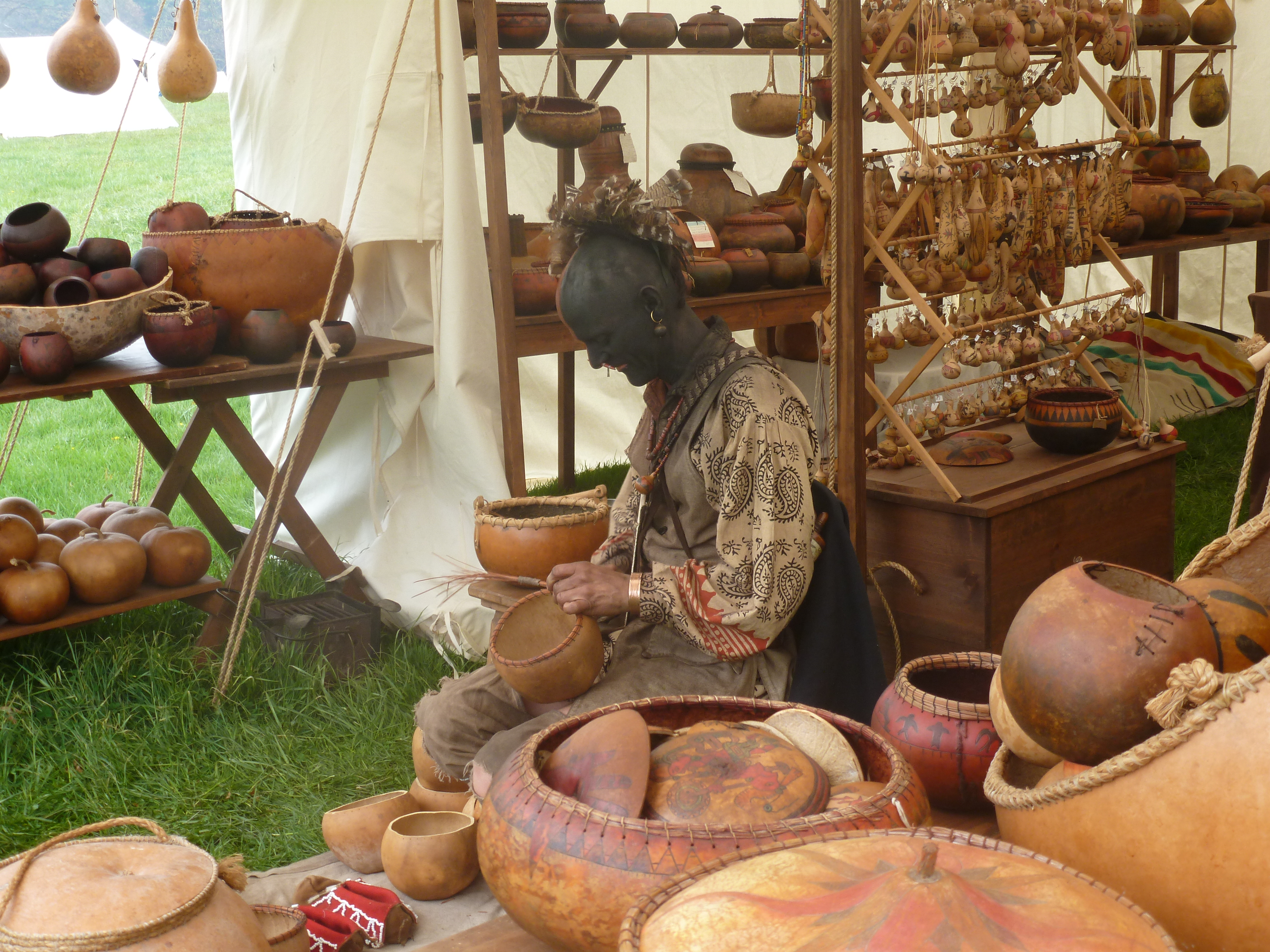 18th Century Market Fair at Fort Frederick: A Taste of Life