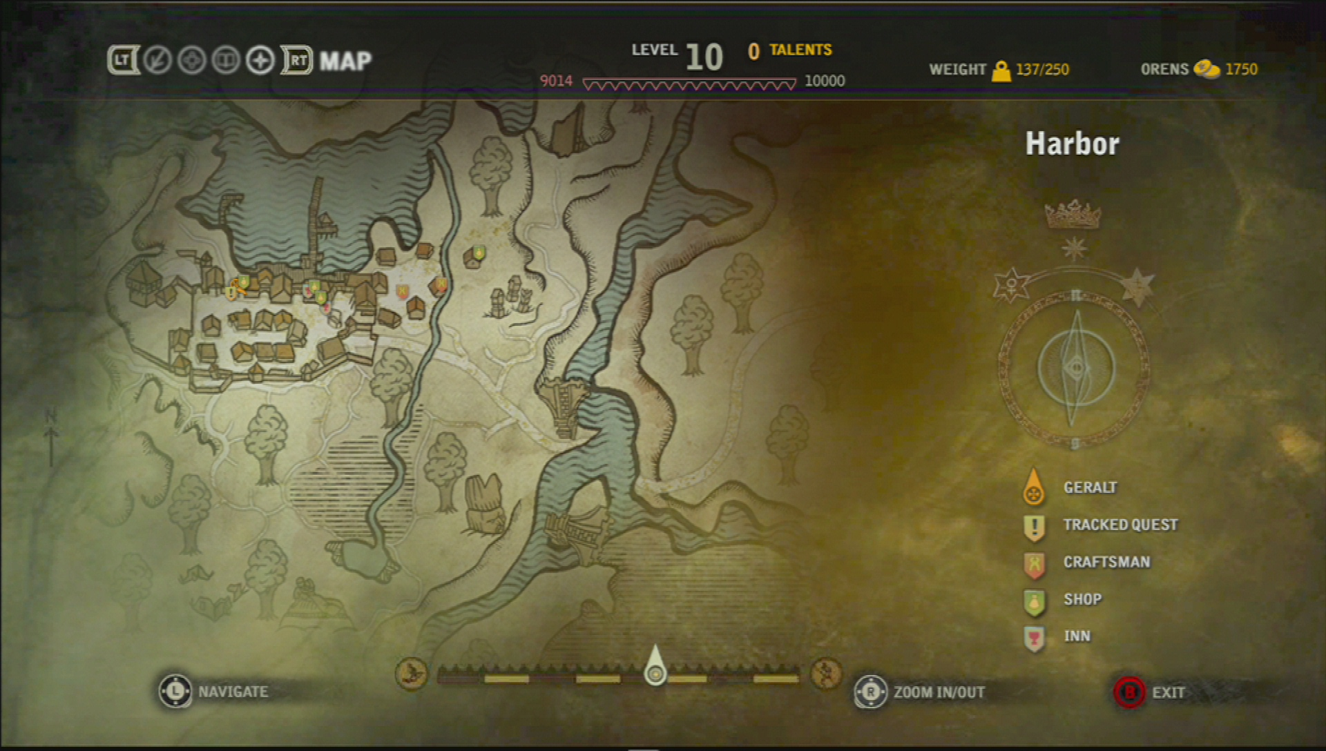 Mapa The Witcher 2.Getting Lost In The Witcher 2 How Not To Build A Map