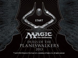 Magic 2013 logo/start screen