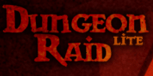 Title logo to the game Dungeon Raid Lite