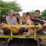 De Battabang a Seam Reap em barco (Camboja)