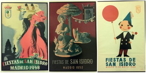 Carteles Fiesta de San Isidro Madrid