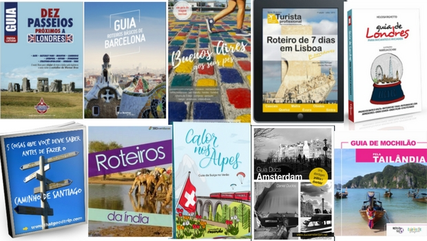 Guias de viagem de blogueiros brasileiros
