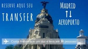 Serviço de transfer do aeroporto de Madrid ao centro