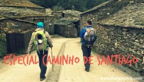 Caminho de Santiago em família