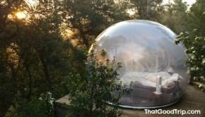 Hotel bolha na França