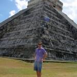 John at the main temple
