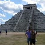 John and I against the main pyramid