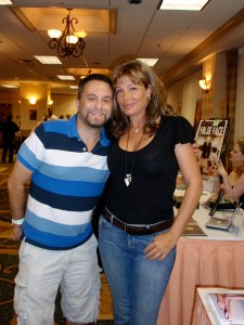 Dustin and Kelly Lebrock