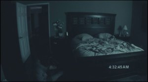Spooky Scene from Paranormal Activity