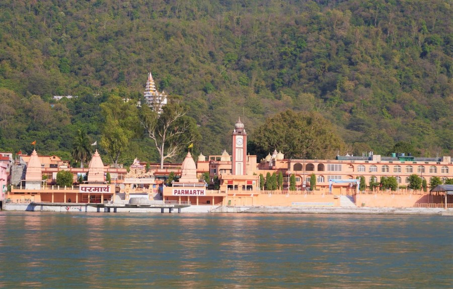 Parmarth rishikesh in uttarakhand india