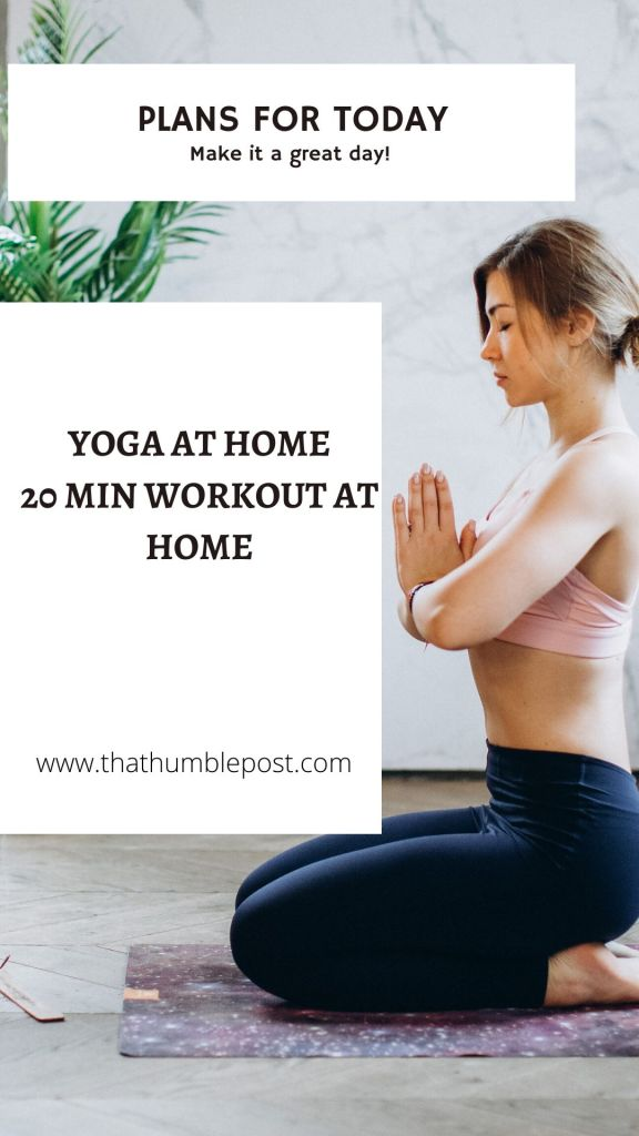 YOGA AND WORKOUT AT HOME