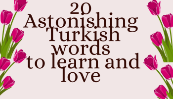 Turkey words for love