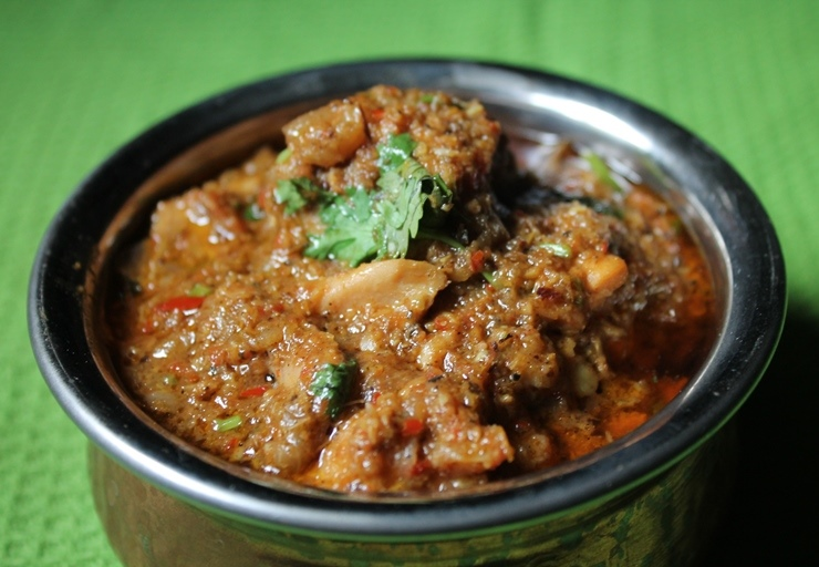 spicy east indian food curry