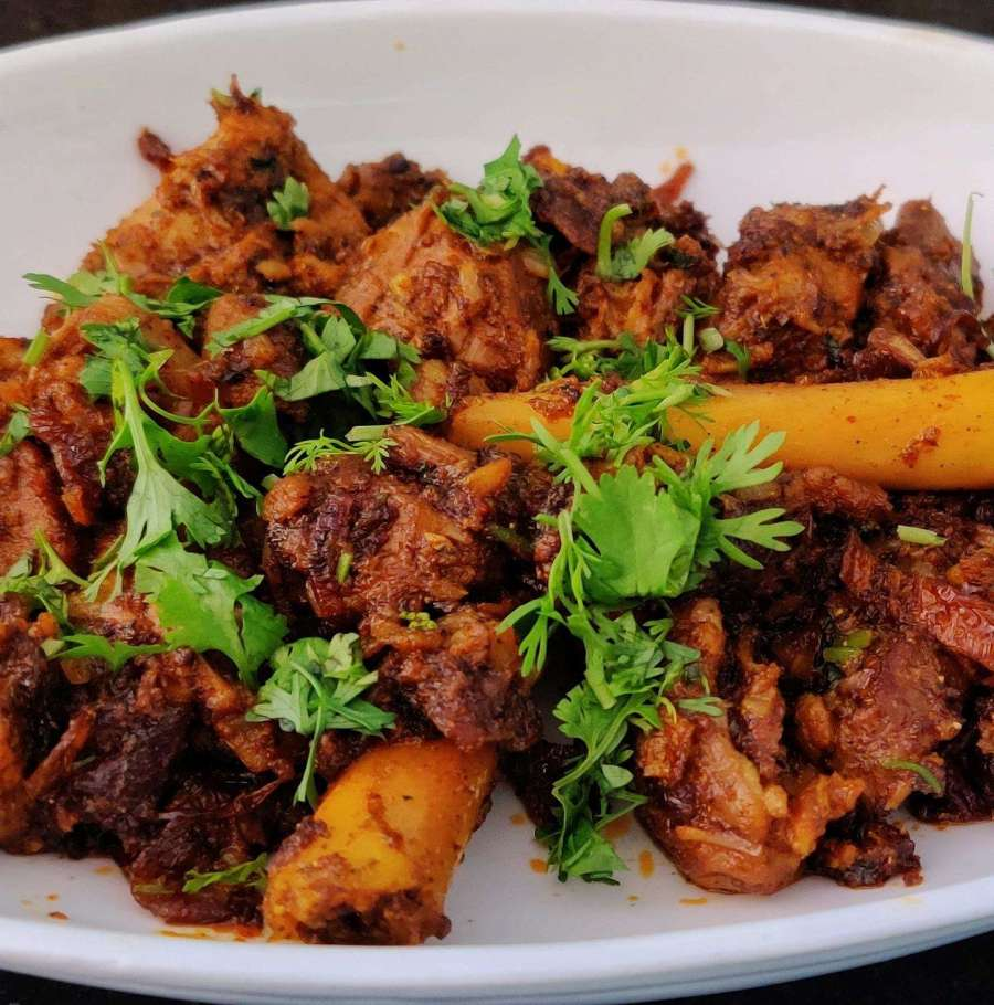 mutton indian curry food