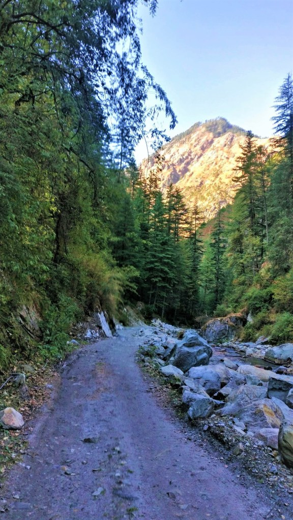 grahan village trail is offbeat places near kasol