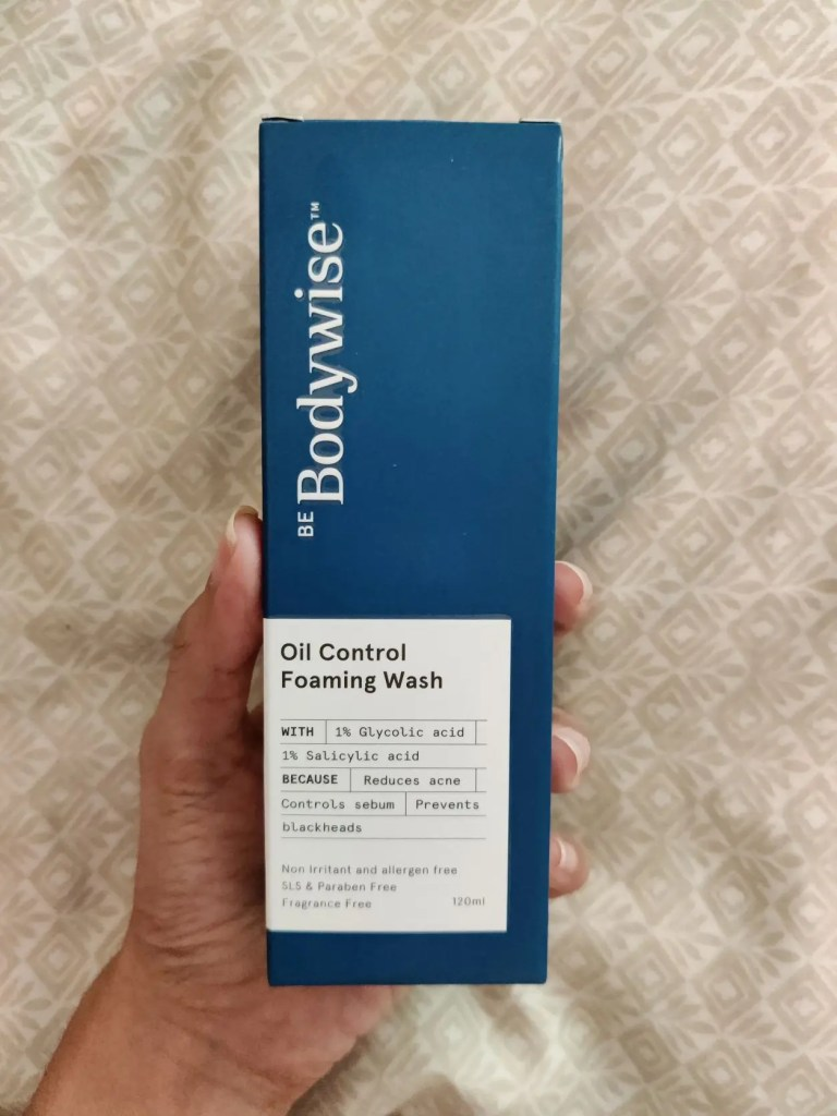 BeBodyWise oil control review