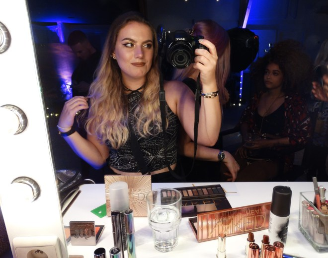 Urban Decay party
