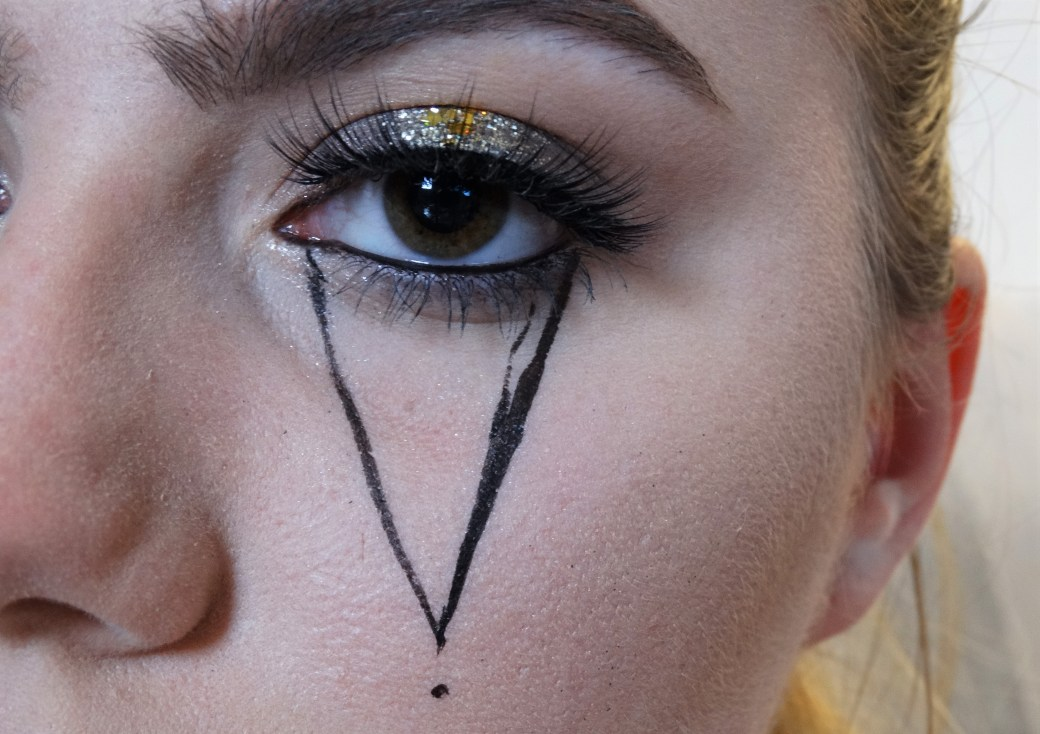 halloween make-up tutorial