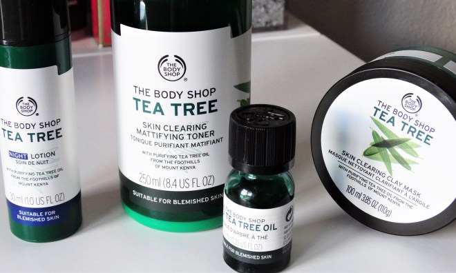 review the body shop tea tree