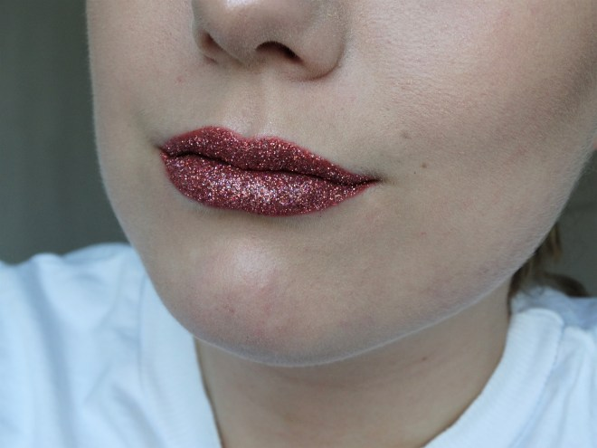 Review glitter lips benelux