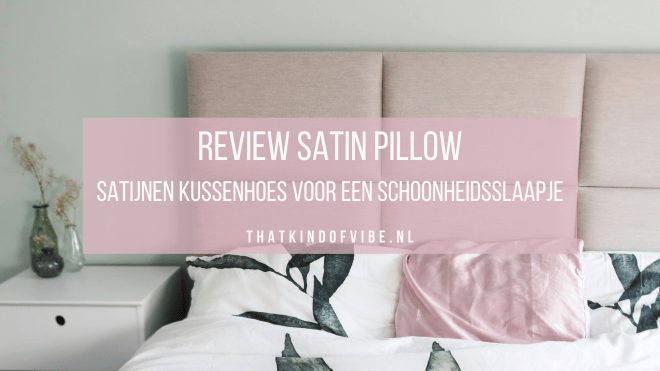 review satin pillow satijnen kussenhoes
