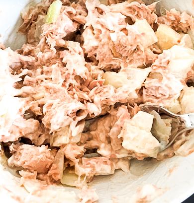 eitwitrijke tonijnsalade recept
