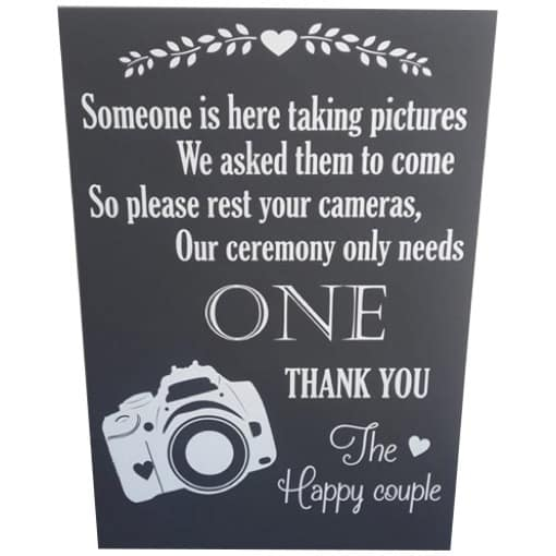 one-photographer-sign