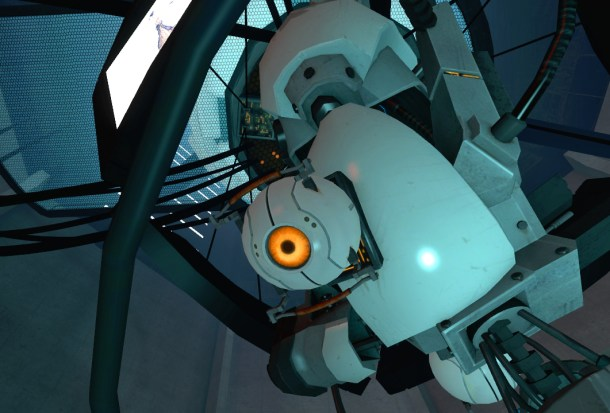 GLaDOS'_Curiosity_Core_attached