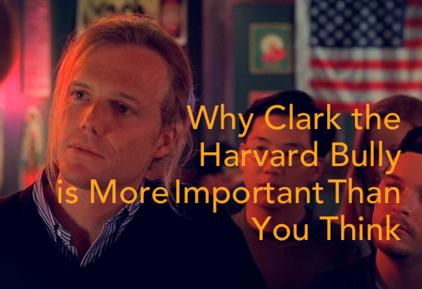 Character Moment The Importance Of Clark The Harvard Bully In Good Will Hunting 1997 That Moment In
