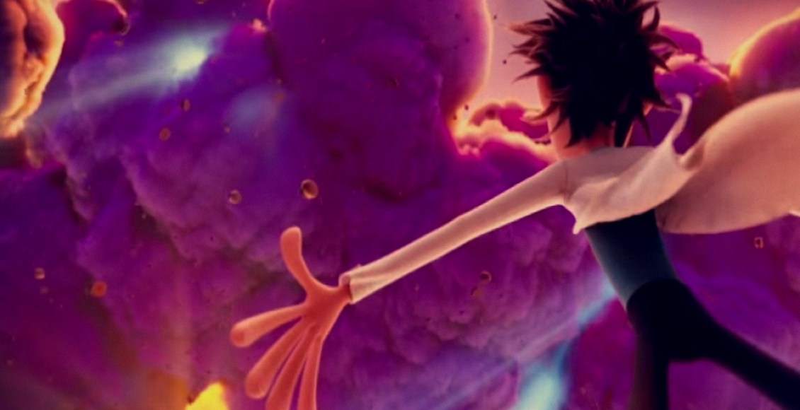 A Cheesy Success In Cloudy With A Chance Of Meatballs 2009 That Moment In