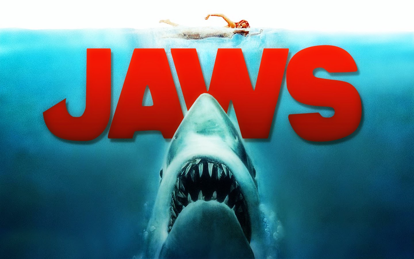 iconic jaws poster