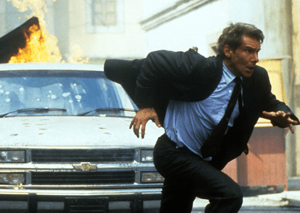 Harrison Ford Fights Both Sides Of The Drug War In Clear And Present Danger That Moment In