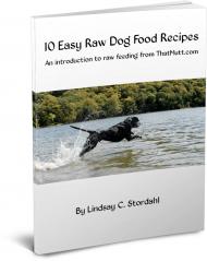 Ebook on raw feeding by Lindsay Stordahl