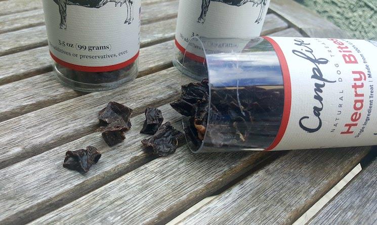Campfire Natural Dog Treats, Hearty Bites