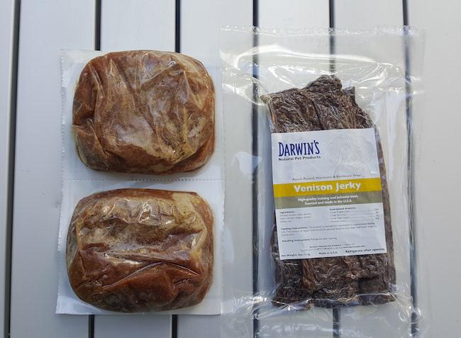 Darwin's venison jerky treats