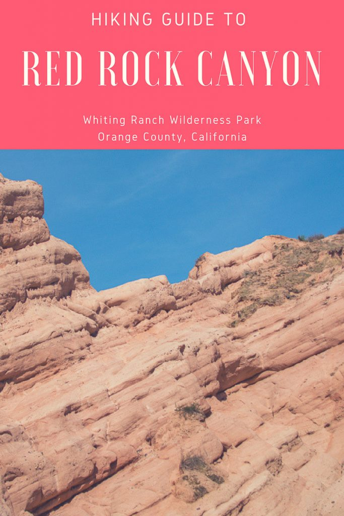 This hiking guide will take you to the gorgeous Red Rock Canyon Trail in Whiting Ranch Wilderness Park, located in Orange County, California.