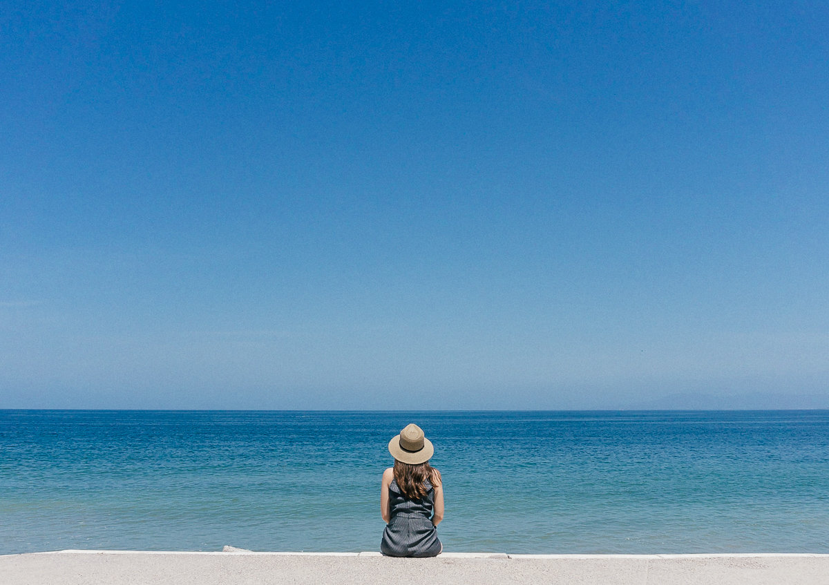 Perfect blue water in Puerto Vallarta, Mexico