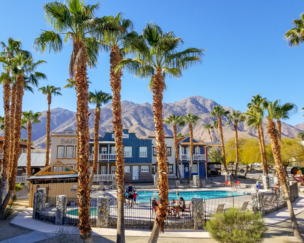 Palm Canyon Hotel in Borrego Springs
